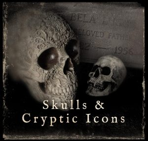 Skulls & Cryptic Icons