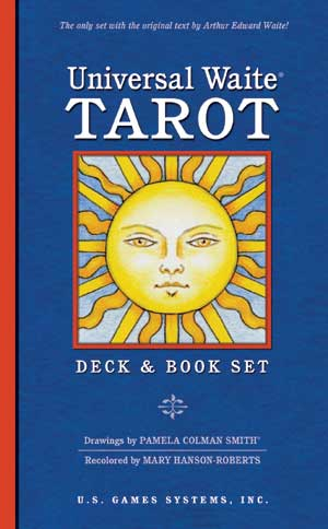 Universal Waite Tarot Deck + Book Set