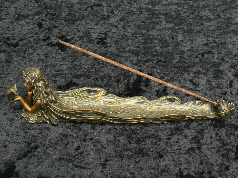 Fairy with Butterfly Incense Burner