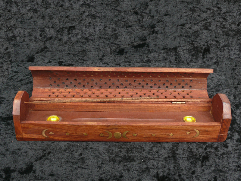 Moon Box Incense Burner
